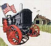 Click for more details of Farmer's Pride (cross stitch) by Stoney Creek