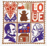 Click for more details of February (cross stitch) by The Prairie Schooler