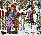Click for more details of First Kiss (cross stitch) by Luca - S
