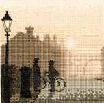 Click for more details of First Post (cross stitch) by Phil Smith