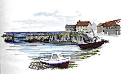 Click for more details of Fisherman's Haven (cross stitch) by Rose Swalwell