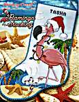 Click for more details of Flamingo Stocking (cross stitch) by Stoney Creek