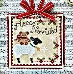 Click for more details of Fleece Navidad (cross stitch) by Luminous Fiber Arts
