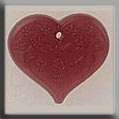 Click for more details of Floral Embossed Heart Treasure (beads and treasures) by Mill Hill