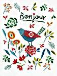 Click for more details of Flower Bird (cross stitch) by Vervaco