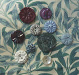 Click for more details of Flower Buttons (buttons and brads) by Elizabeth Grace