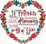 Click for more details of Flower Friends (cross stitch) by Imaginating