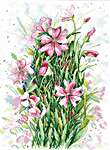 Click for more details of Flower Symphony (cross stitch) by MP Studios