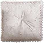 Click for more details of Flowers Hardanger Pillow (hardanger) by Princesse