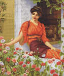 Click for more details of Flowers of Summer (cross-stitch kit) by Luca - S