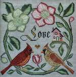 Click for more details of Forever and Ever (cross stitch) by Cottage Garden Samplings