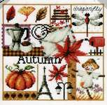 Click for more details of Four Seasons - Autumn (cross stitch) by Soda Stitch