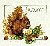Click for more details of Four Seasons (cross-stitch kit) by Marjolein Bastin