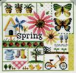 Click for more details of Four Seasons - Spring (cross stitch) by Soda Stitch