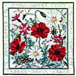 Click for more details of Four Seasons - Summer (cross stitch) by Rose Swalwell