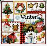 Click for more details of Four Seasons - Winter (cross stitch) by Soda Stitch