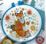 Click for more details of Fox (cross stitch) by Abris Art