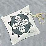 Click for more details of Foxes and Ducks Pincushion (cross stitch) by Permin of Copenhagen