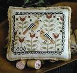 Click for more details of Fraktur Friends (cross stitch) by Plum Street Samplers