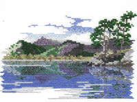 Click for more details of Friars Crag (cross stitch) by Rose Swalwell