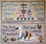 Click for more details of Friendship Sampler (cross stitch) by The Blue Flower