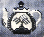 Click for more details of Friendship Tea (cross-stitch pattern) by The Cross-Eyed Cricket