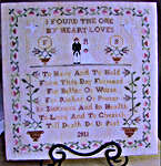 Click for more details of From this Day Forward (cross-stitch pattern) by New York Dreamer
