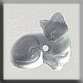Click for more details of Frosted Crystal Cat Treasure (beads and treasures) by Mill Hill