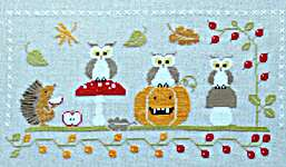 Click for more details of Funny Autumn (cross stitch) by Madame Chantilly