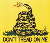 Click for more details of Gadsden Flag (cross stitch) by Stoney Creek