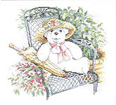 Click for more details of Garden Bears (cross-stitch pattern) by Dimensions