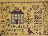 Click for more details of Garden Borders (cross stitch) by Blackbird Designs