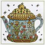 Click for more details of Garden Days (cross stitch) by Lesley Teare