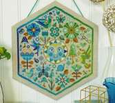 Click for more details of Garden Party - Cool (cross stitch) by Satsuma Street