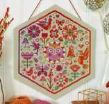 Click for more details of Garden Party - Warm (cross stitch) by Satsuma Street
