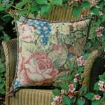 Click for more details of Garden Roses (tapestry) by Glorafilia