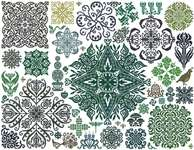 Click for more details of Garden Stars (cross stitch) by Ink Circles