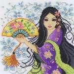 Click for more details of Geisha (cross stitch) by DMC Creative