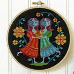 Click for more details of Gemini (cross stitch) by Satsuma Street