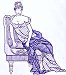 Click for more details of Georgina - 1802 (blackwork pattern) by Classic Embroidery