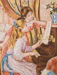 Girls at the Piano After Renoir