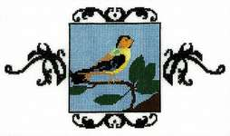 Click for more details of Goldfinch (cross stitch) by Nora Corbett