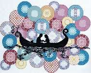 Click for more details of Gondola (cross stitch) by Abris Art