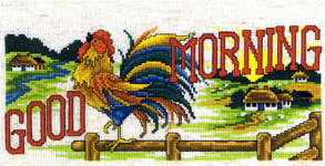 Click for more details of Good Morning (cross-stitch pattern) by Imaginating