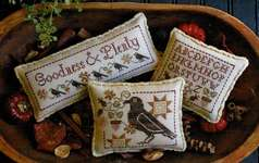 Click for more details of Goodness and Plenty (cross stitch) by Plum Street Samplers