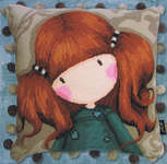 Click for more details of Gorjuss - Little Annie (tapestry) by Bothy Threads