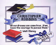 Click for more details of Graduation Dreams (cross stitch) by Janlynn