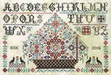 Click for more details of Grayfriar's Sampler (cross stitch) by Rosewood Manor