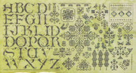 Click for more details of Green on Green  (cross stitch) by Rosewood Manor