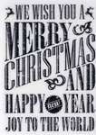 Click for more details of Grungy Christmas Wishes (stamps) by Deep Red